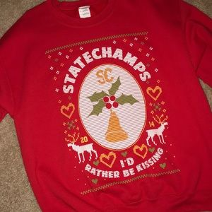 LIMITED EDITION State Champs Christmas Sweater